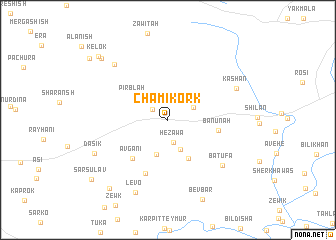 map of Chami Kork