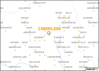 map of Champiloma