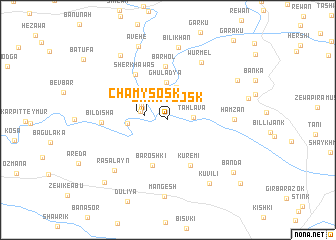 map of Chamy Sosk