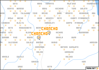 map of Ch'anch'o