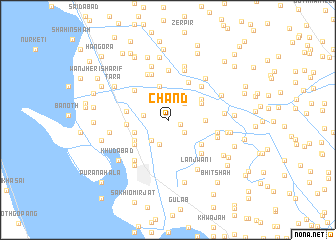 map of Chand