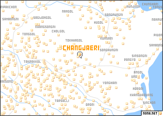 map of Changjae-ri