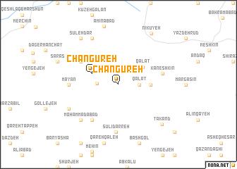 map of Changūreh
