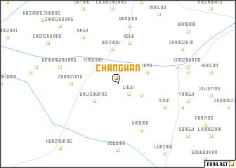 map of Changwan