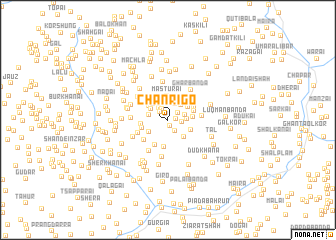 map of Chānrīgo
