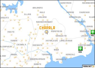 map of Chapala