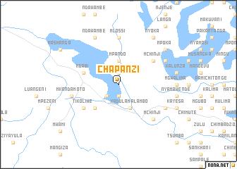 map of Chapanzi