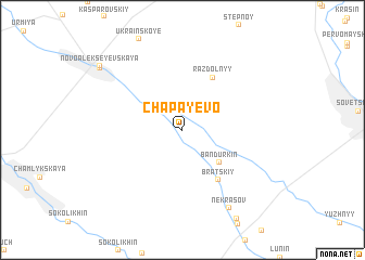 map of Chapayevo
