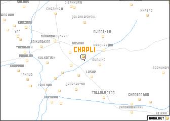 map of Chāplī