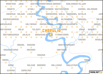 map of Chāpulia