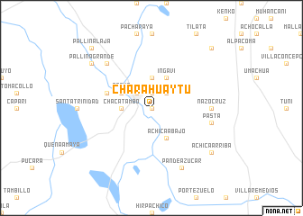 map of Charahuaytu