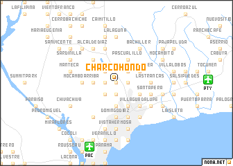 map of Charco Hondo