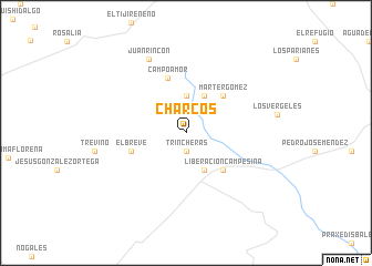 map of Charcos