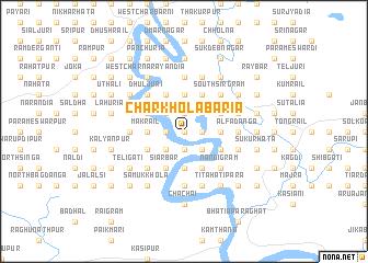 map of Char Kholābāria