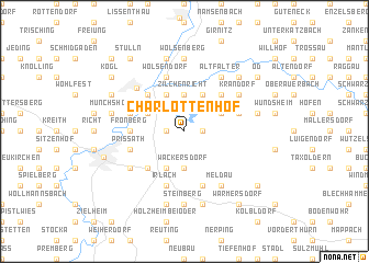 map of Charlottenhof