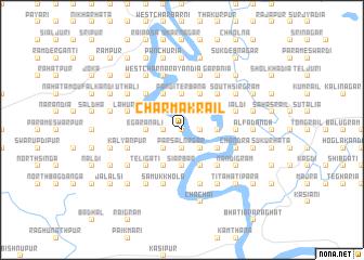 map of Char Mākrāil