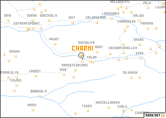 map of Charmī