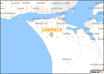 map of Charneca