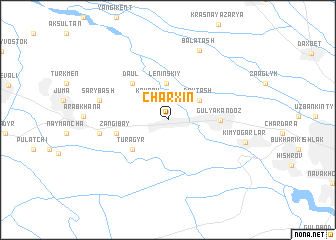 map of Charxin
