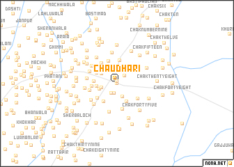 map of Chaudhari
