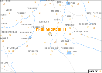 map of Chaudharpalli