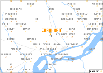 map of Chaukkan