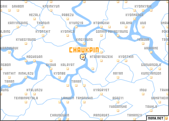 map of Chaukpin