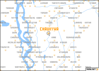 map of Chaukywa
