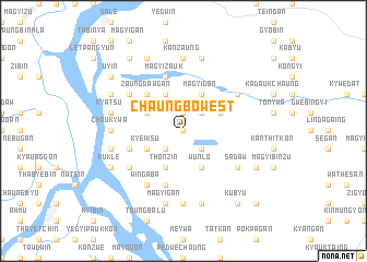map of Chaungbo West
