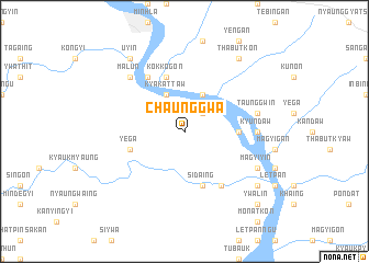 map of Chaunggwa