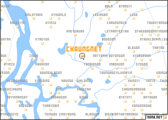 map of Chaungnet