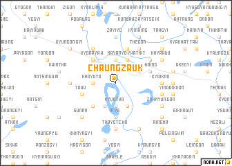 map of Chaungzauk