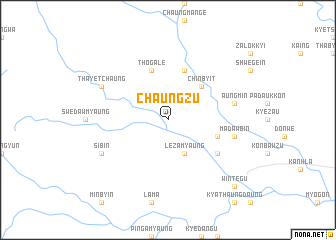 map of Chaungzu