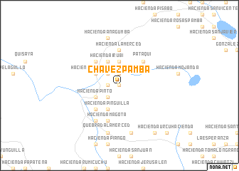 map of Chavezpamba