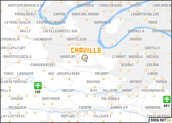 map of Chaville