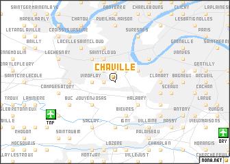 map of Chaville
