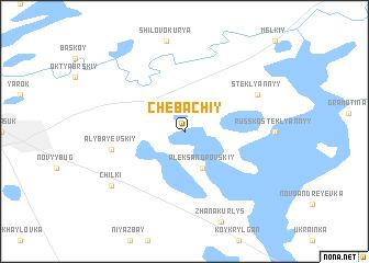 map of Chebachiy