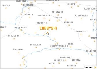 map of Chebyshi