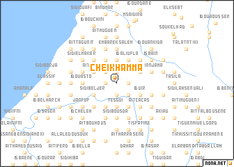 map of Cheïkh Amma