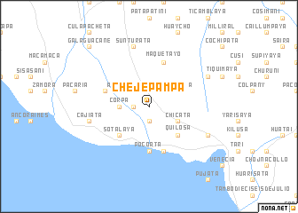map of Chejepampa