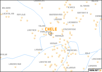 map of Chele