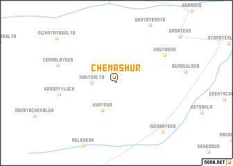 map of Chemashur