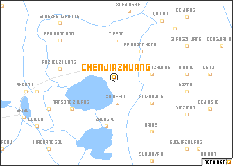 map of Chenjiazhuang