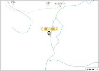 map of Chenkur