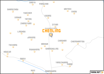 map of Chenling