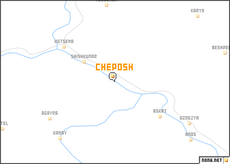 map of Cheposh
