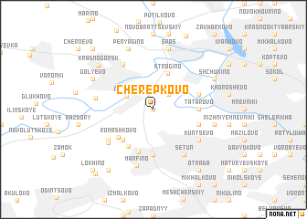 map of Cherepkovo