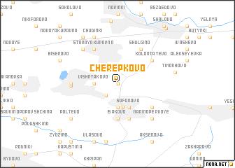 map of Cherepkovo
