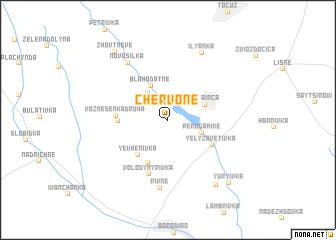 map of Chervone