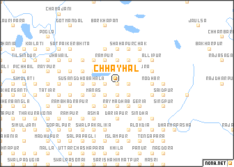 map of Chhayhāl